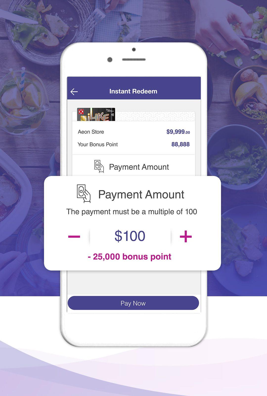 Spending Rewards Program with Aeon HK App