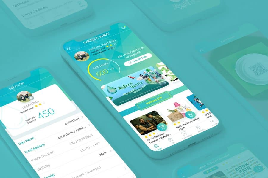 "ESDlife Digital Solutions develops ""Drop of Fun"" App for Watsons Water"