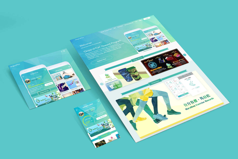 "ESDlife Digital Solutions Watsons Water ""Drops of Fun"" App and Website"