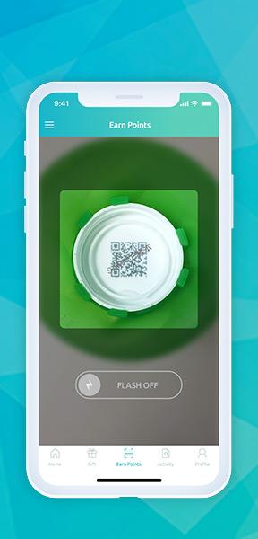 "Scan QR Code with Watsons Water ""Drop of Fun"" App"