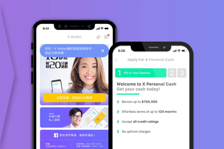 Loan Application with Zero Finance X Wallet App