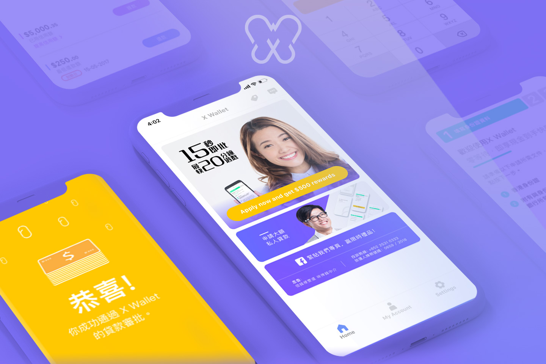 Zero Finance X Wallet App Loan application success