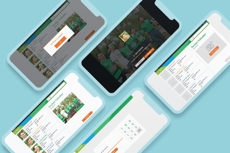 Oxfam Trailwalker mobile app