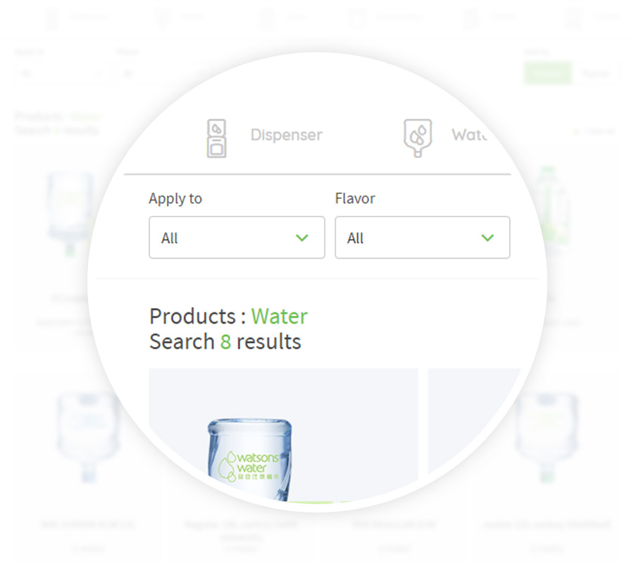 Easy product search