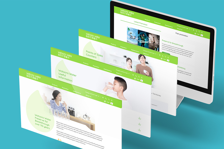Watsons water eshop website