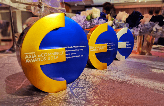 ESDlife Digital Solutions Wins 3 Awards at Asia e-Commerce Awards 2019