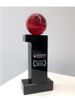 """ESDlife DS Team Wins """"Digital Insurance Initiative of the Year – Hong Kong"""" at Insurance Asia Awards 2019"""
