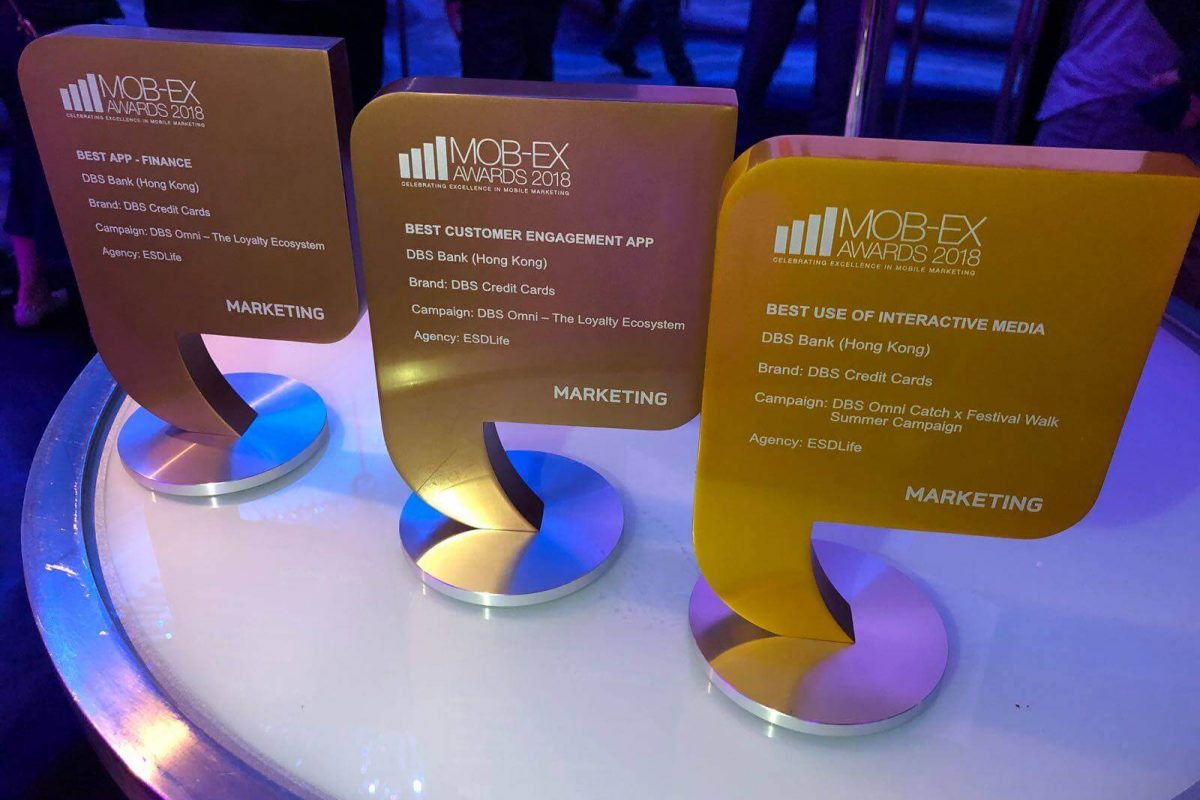 ESDlife Digital Solutions Wins Multiple Awards at MOB-Ex Awards 2018