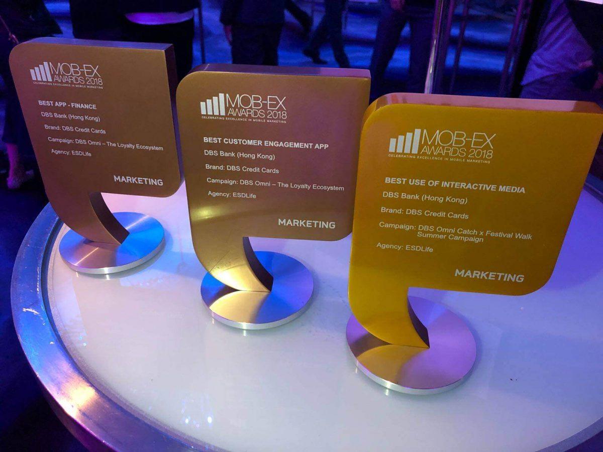 ESDlife Digital Solutions Wins Multiple Awards at MOB-Ex Awards 2018