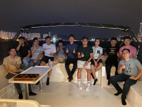 DS Boat trip 2019